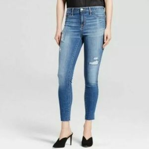Mossimo Supply Co High Rise Denim Jegging